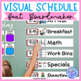 Visual Schedule featuring Boardmaker! Ready to go Class & Personal Schedules