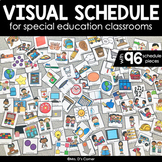 Visual Schedule for Special Education   Color Coded Visual Schedule