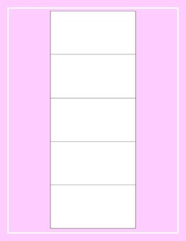 Visual Schedule for Students with Special Needs PINK (PECS, Visuals, Schedule)