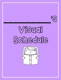Visual Schedule for Students with Special Needs PURPLE (PE