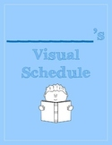 Visual Schedule for Students with Special Needs BLUE (PECS