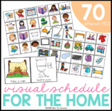 Visual Schedule for the Home (70 PECS included)