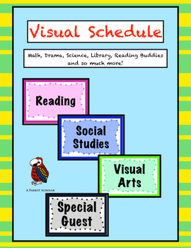 Visual Schedule with 42 Options