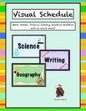 Visual Schedule with Pictures