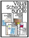 Visual Schedules Pack for Autism Program