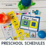 Visual Schedules, Special Education Preschool Schedule Pack