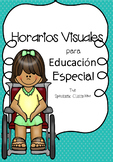 Visual Schedules for Autism and Life Skills- Spanish, Horarios Visuales