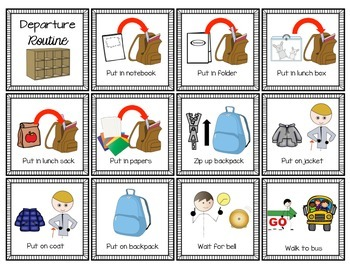 Visual Schedules for Classroom Routines