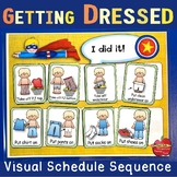 Visual Schedules for Dressing and Undressing - Flexible &