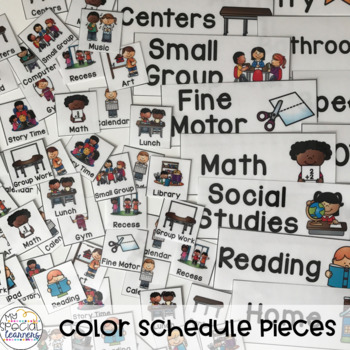 Visual Schedules for Special Education