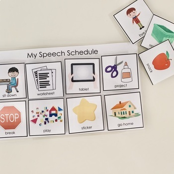 Visual Schedules for Speech Therapy