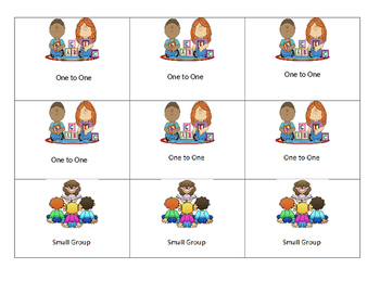Autism: Visual Sechedule Cards Editable