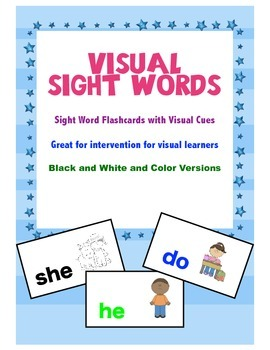 Visual Sight Words