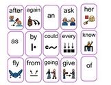 Visual Sight Words Grade 1