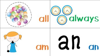 Visual Sight Words for Visual Learners featuring SmartySymbols