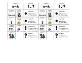 Visual Simple Sentence Writing Checklist
