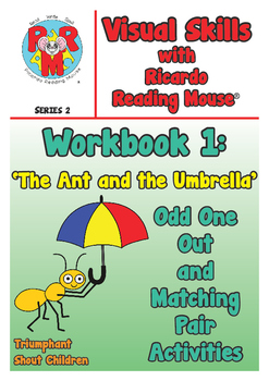 PRE-READING Visual Skills Series 2: Workbook 1 - Odd One Out & Matching Pairs