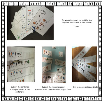 Visual Support Cards for Communication