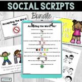 Social Scripts | Visual Social Stories | Social Stories Bundle