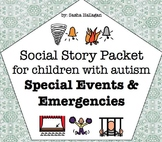 Visual Social Story Packet for Children with Autism: Speci