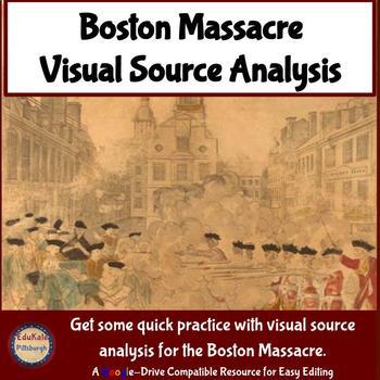 Visual Source Analysis: Boston Massacre