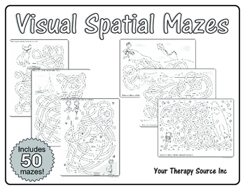 Visual Spatial Mazes
