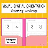 Visual-Spatial Orientation Drawing