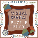 Visual Spatial Puzzle Play for Spatial Awareness - An Art for Brains Activity