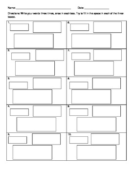 Visual Spatial Spelling Strategy - Elementary School Grades