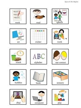 Visual Speech Schedule