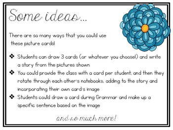 Visual Story Starters for Elementary Writing