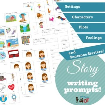 Visual Story Writing Prompts and Sentence Starters