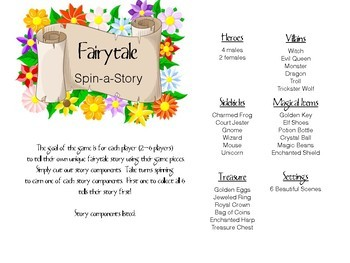 Spin a Story Fairy tales