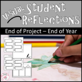 Visual Student Reflections - Students Reflect through drawing