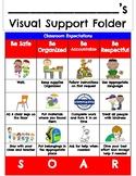 Visual Support Folder