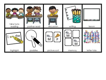 Visual Support for Guided Reading