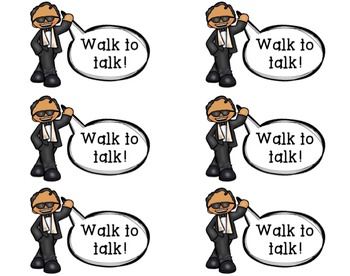 Visual Support for Talking and Proximity