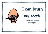 Visual Support for Teeth Brushing