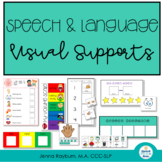 Visual Supports: Speech and Language Behavior Supports