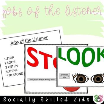 SOCIAL SKILLS: Conversation~ Visual Supports