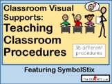 Visual Supports For Teaching Classroom Procedures (with Sy
