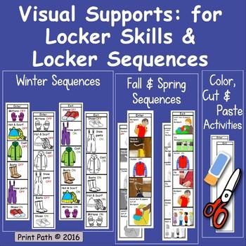 Winter Routines, Fall & Spring Dressing, Locker Skills: Vi