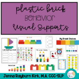 Visual Supports: Plastic Brick Themed Behavior Supports