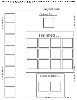 Visual Supports : {Schedule, First-Then cards, Icons, Break Cards, Much More}