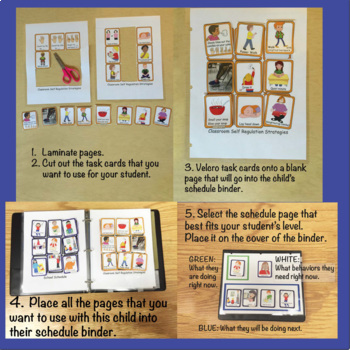 Visual Supports: Schedules, Self-Regulation & Class Inclusion~ Special Education