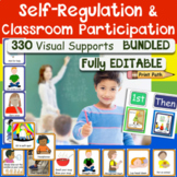 EDITABLE Visual Schedules for SPED with Self-Reg & Class Inclusion