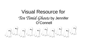 Visual Supports for Answering Questions about Ten Timid Ghosts (Autism)