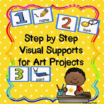 Visual Supports for Art Projects