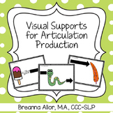 Visual Supports for Articulation Production