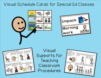 Visual Supports for Classroom Management Bundle